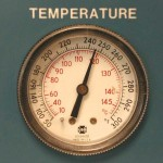 Autoclave temperature
